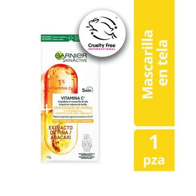 Ampolla-En-Mascarilla-De-Tela-Garnier-Vitamina-C-Y-Anana-X1