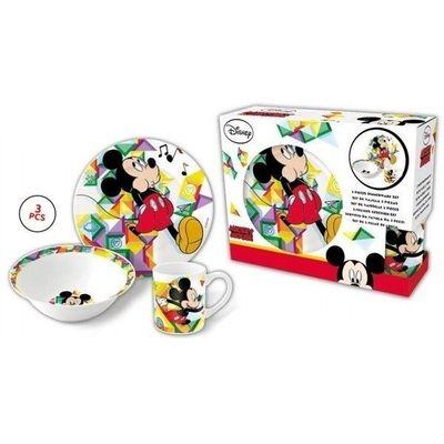 Mickey-Mouse-Disney-Set-Infantil-Ceramica-Plato-Bowl-Taza--en-FarmaPlus