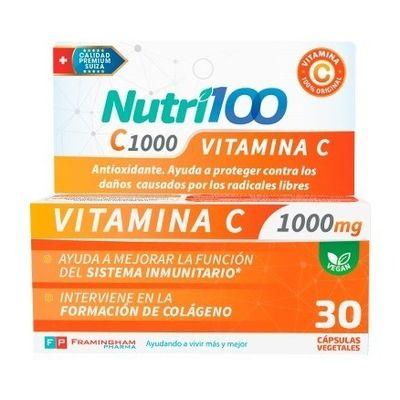 Nutri100-Vitamina-C-1000mg-X-30-Capsulas-Vegetales-en-FarmaPlus