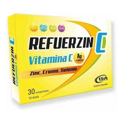 Refuerzinc-Vitamina-C-Y-Minerales-X-30-Comprimidos-en-FarmaPlus