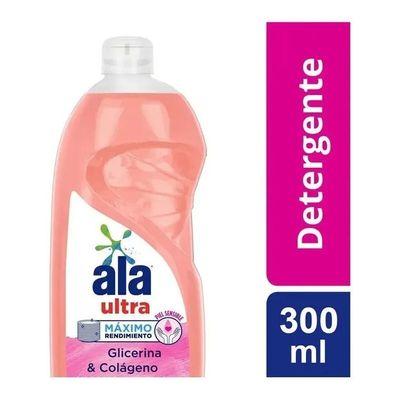 Ala-Ultra-Lavavajillas-Glicerina-Colageno-Detergente-X-300ml-en-FarmaPlus