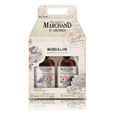 Marchand-Estuche-Magnolia-uva-Crema-Manos---Crema-Corporal-en-FarmaPlus